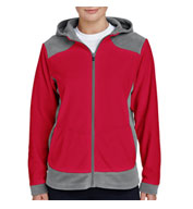 Ladies Rally Colorblock Microfleece Jacket