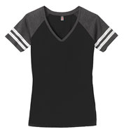 Custom District® Womens Game V-Neck Tee