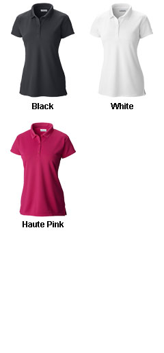 Columbia Ladies Innisfree Short Sleeve Polo - All Colors