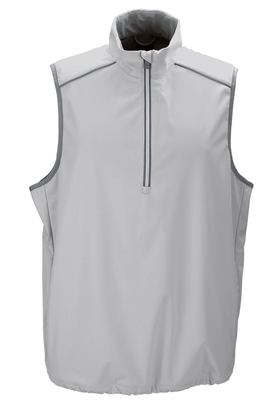 Greg Norman Mens 1/4-Zip Weatherknit Vest