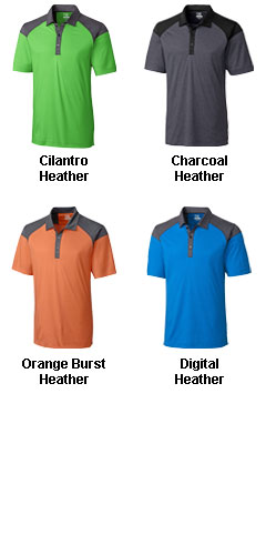 Mens Chelan Colorblock Polo - All Colors