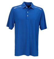 Custom Greg Norman Mens Play Dry Aerated Weatherknit Polo
