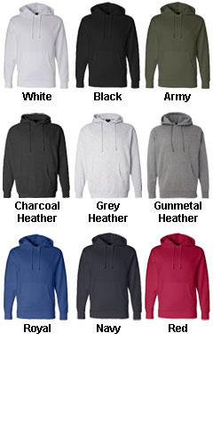 Adult Hooded Pullover Sweatshirt - All Colors