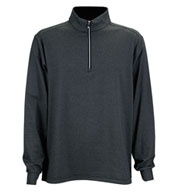 Custom Greg Norman Mens Heathered Stripe 1/4-Zip Pullover