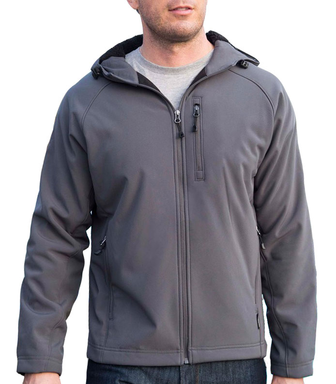 Adult Sherpa Hooded Matrix