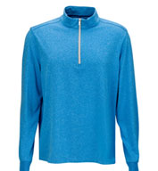 Custom Greg Norman Mens Heathered 1/4-Zip Pullover