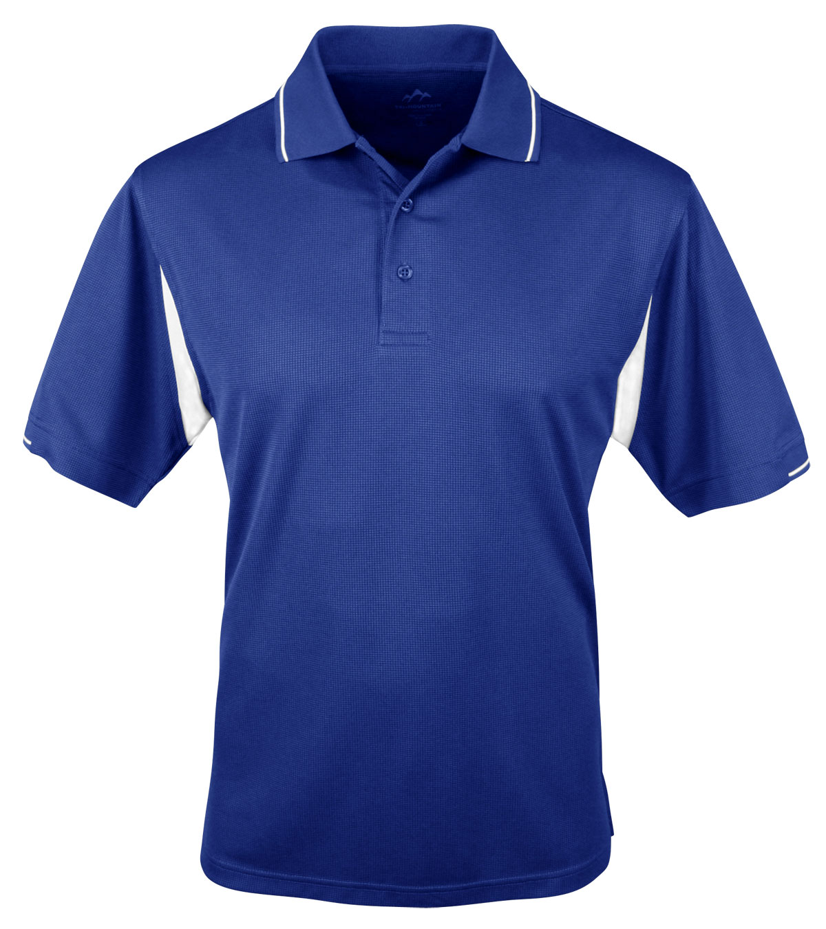 Tri-Mountain Mens Action Polo