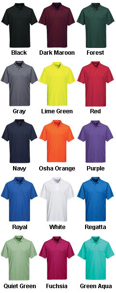 Mens Vital Polo - All Colors