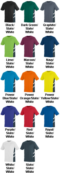 Oblique Crew Neck Jersey - All Colors