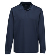 Custom Adult Vital Long Sleeve Snap Polo