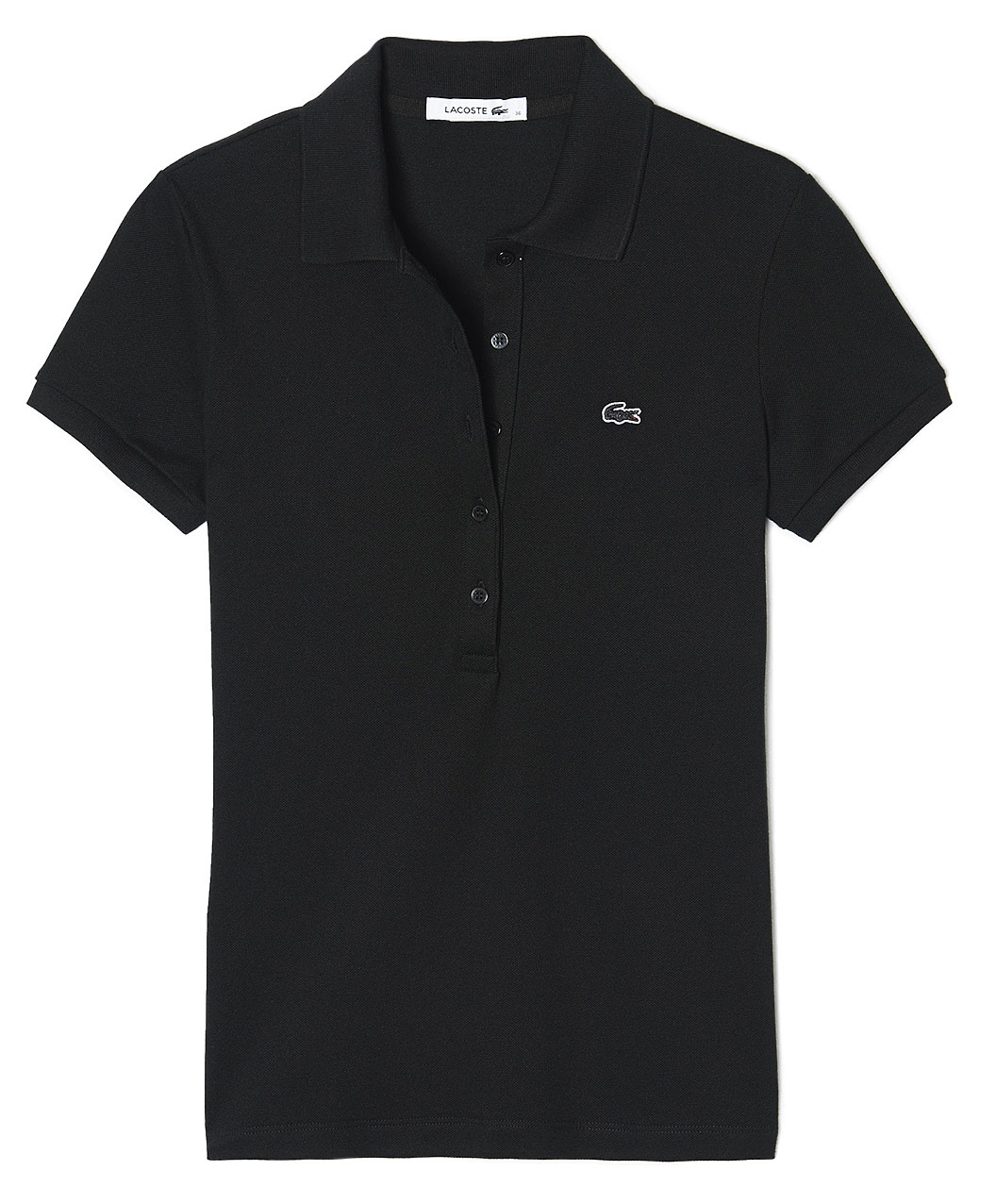 Lacoste Ladies Short Sleeve Pique Polo