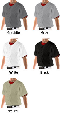 Reliever Full Button Baseball Jersey - All Colors