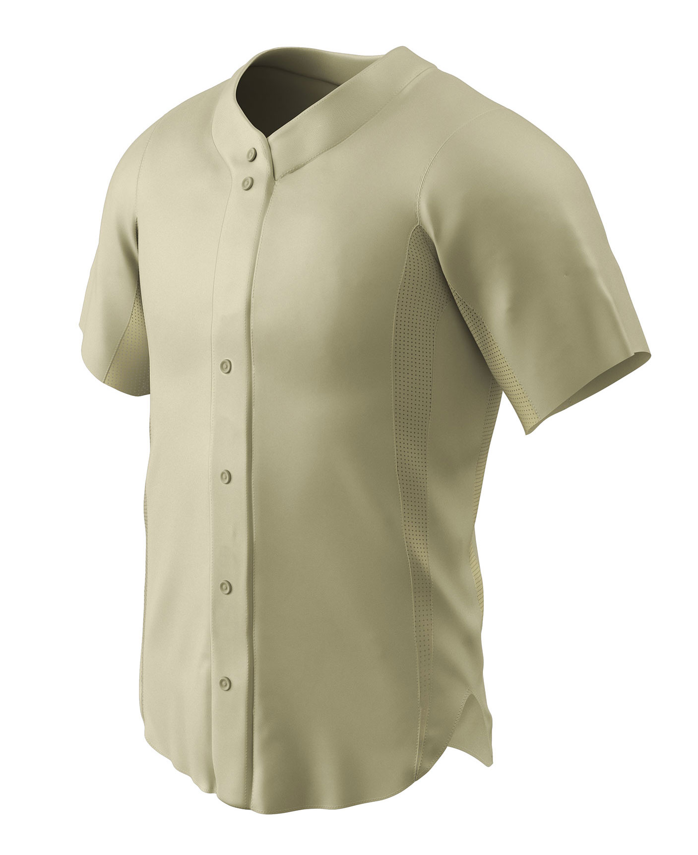 Reliever Full Button Mens Baseball Jersey