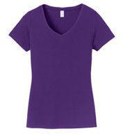 Custom Port & Company® Ladies Fan Favorite™ V-Neck Tee
