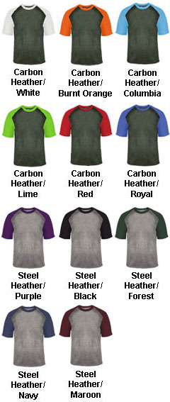 Adult Heather Sport Tee - All Colors