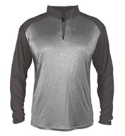 Custom Mens Pro Heather Sport 1/4 Zip