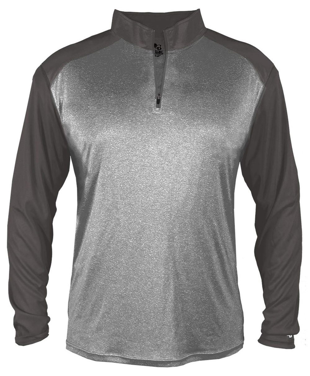 Mens Pro Heather Sport 1/4 Zip