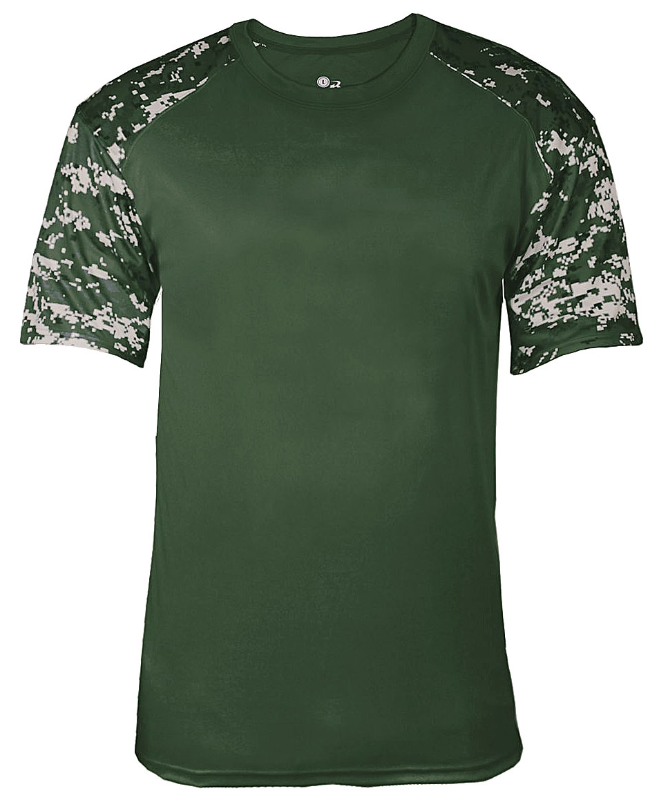 Mens Digital Fitted Sport Tee