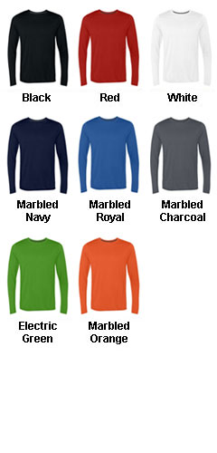 Gildan Tech Performance Long Sleeve T-Shirt - All Colors