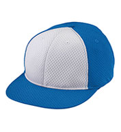 Adult Athletic Mesh Flat Bill Cap