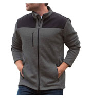 Custom Landway Mens Capitan Sweater Fleece
