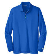 Custom Nike Golf Mens Tall Long Sleeve Dri-Fit Stretch Tech Polo