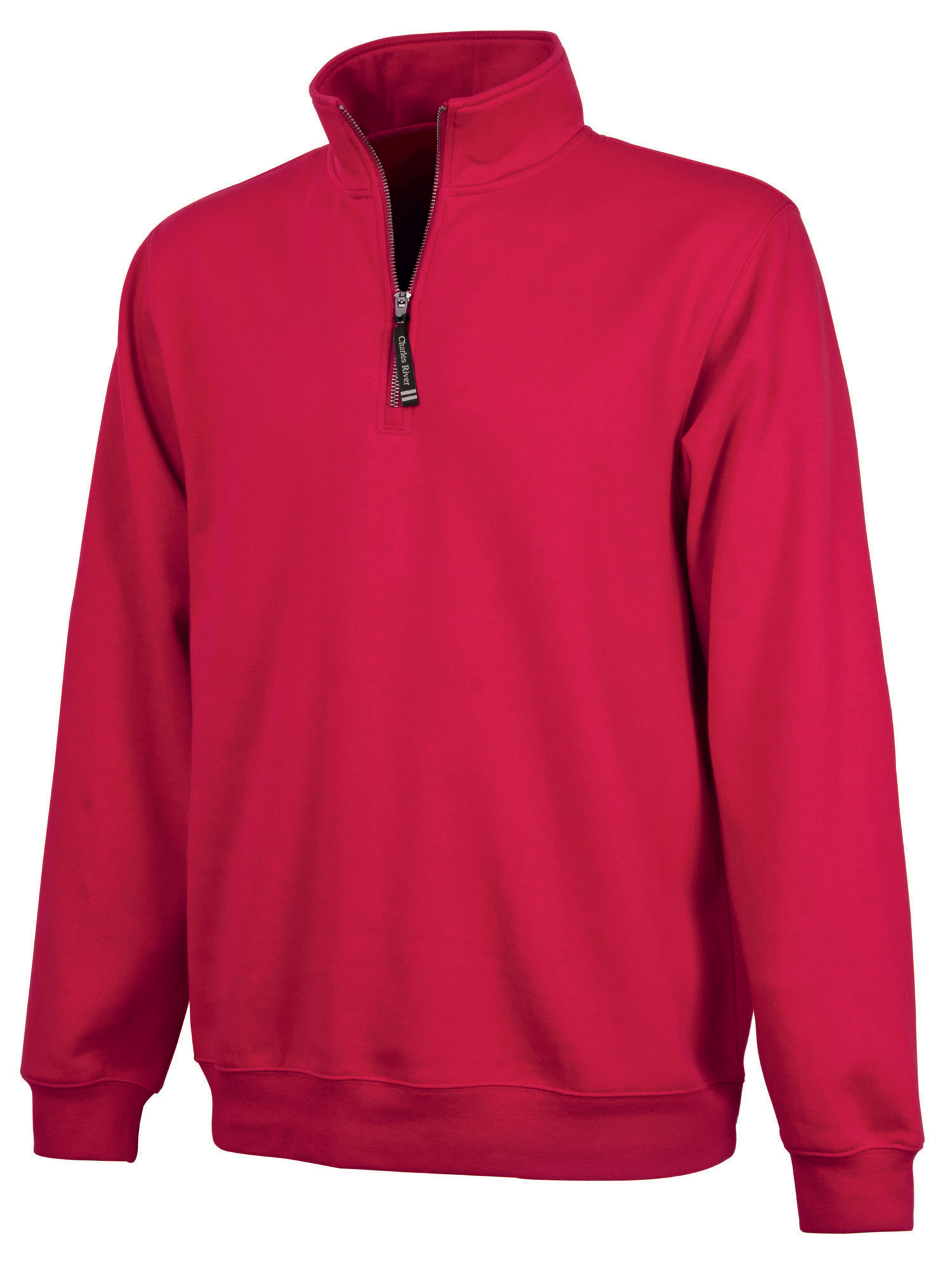 Charles River Adult Crosswind Quarter Zip Sweatshirt