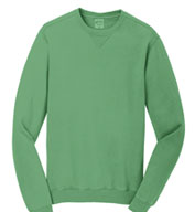 Custom Essential Pigment-Dyed Crewneck Sweatshirt