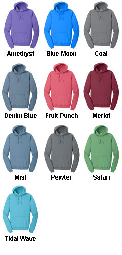 Mens Essential Pigment-Dyed Pullover Hooded Sweatshirt - All Colors