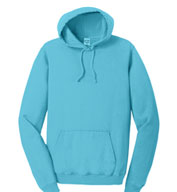 Custom Essential Pigment-Dyed Pullover Hooded Sweatshirt