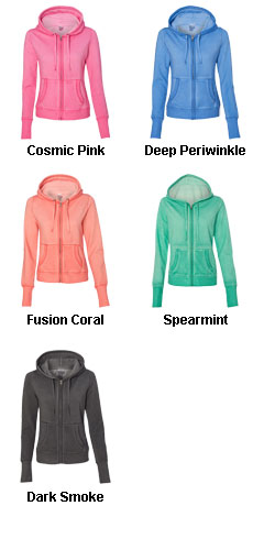 J. America Womens Oasis Wash Sweatshirt - All Colors