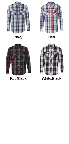 Burnside Long Sleeve Plaid Shirt - All Colors