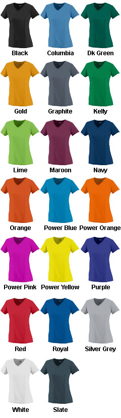Ladies Wicking T-Shirt - All Colors