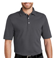 Custom Port Authority® Mens Tall Rapid Dry™ Polo