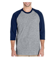 Custom Gildan Adult Heavy Cotton Three-Quarter Raglan