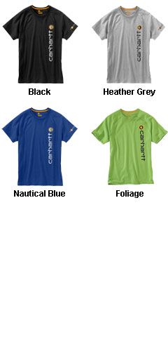 Carhartt Force Cotton Delmont Graphic T-Shirt - All Colors