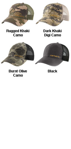Carhartt Brandt Cap - All Colors