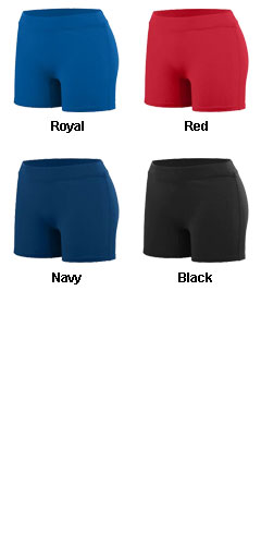 Youth Girls Enthuse Short - All Colors