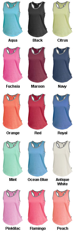 Womens Jersey Racerback Tank - All Colors