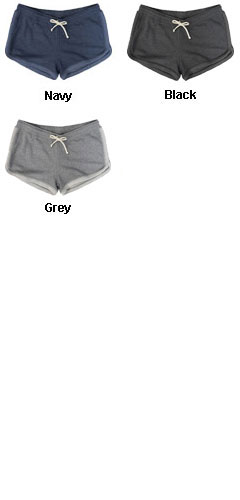 Womens French Terry Short - All Colors