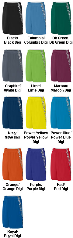Youth Hook Shot Reversible Short - All Colors