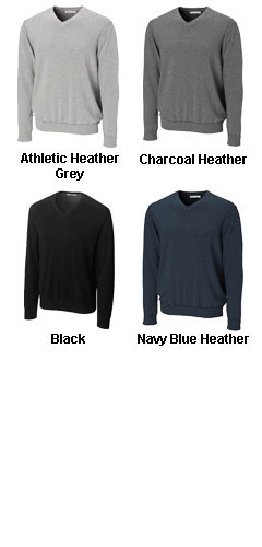 Big and Tall Mens Broadview V-neck Sweater - All Colors