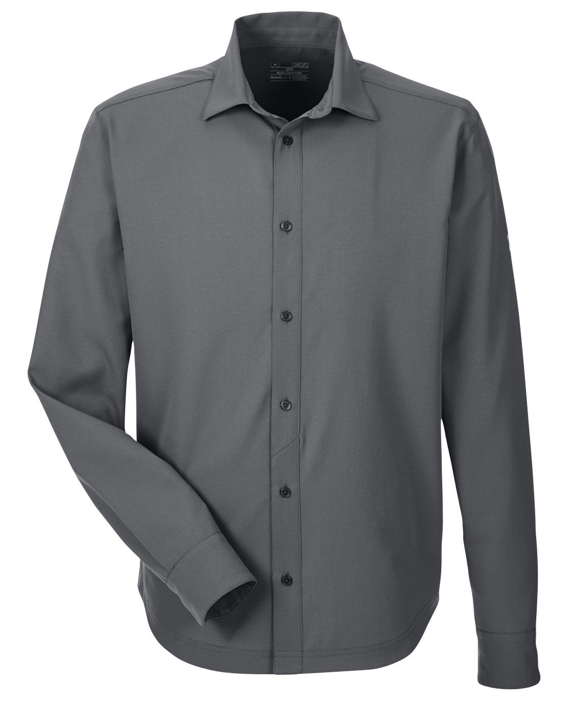 Custom mens under armour ultimate long sleeve button down for Under armor business shirts