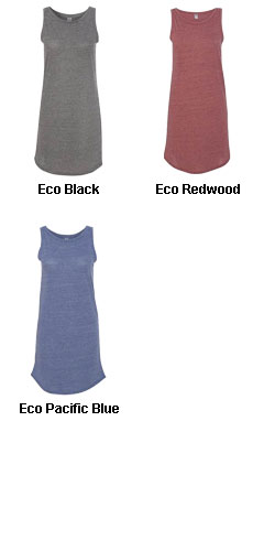 Alternative Womens Nautical Tank Dress - All Colors