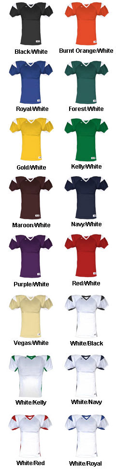 Youth West Coast Football Jersey - All Colors
