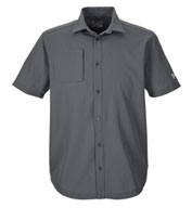 Custom Mens Under Armour Ultimate Short Sleeve Button Down