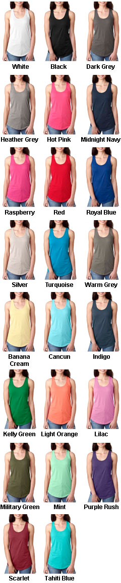 Womens Ideal Racerback Tank - All Colors