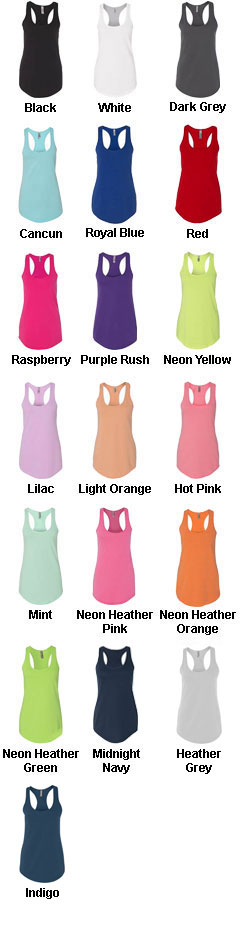 Womens Terry Racerback Tank - All Colors