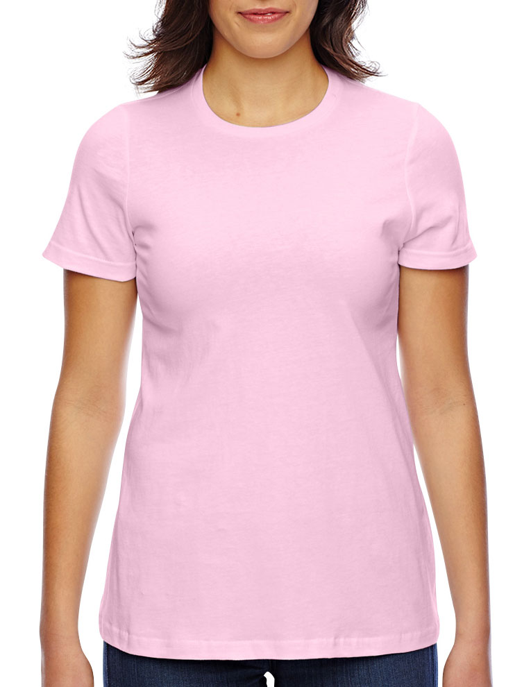 American Apparel Ladies Fine Jersey Classic T