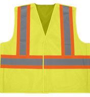 Custom X Back 5-Point Breakaway Adult Vest